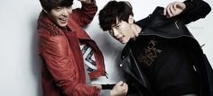 Lee Jong Suk and Kim Woo Bin - @Star1 Magazine March Issue '13