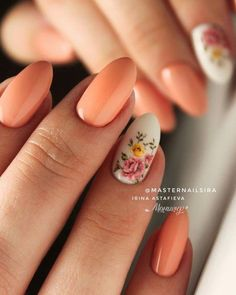 What Are The Basic Nail Designs. Developing the appropriate manicure and nail art design isn't only about color or pattern. Nail Art Designs, Flower Nail Designs, Flower Nail Art, Nail Designs Spring, Simple Nail Designs, Spring Nail Art, Spring Nails, Summer Nails, Simple Wedding Nails