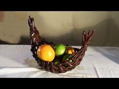 Cesto Gôndola - gondola basket - Góndola cesta - YouTube