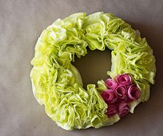 Decorative Coffee Filter Wreath with Coffee Filter Roses #decoration #flower