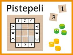 Helppo Pistepeli 4-9 hengen ryhmille   RyhmäRenki Thing 1, Games, Game, Playing Games, Gaming, Toys, Spelling