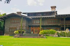 The Gamble House. Greene and Greene Craftsman house in Pasadena, California