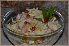Předkrmy , pomazánky | Vaříme doma Potato Salad, Salads, Potatoes, Meat, Chicken, Ethnic Recipes, Red Peppers, Potato, Salad