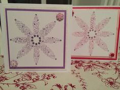 Matching cards for specially nanny's  x