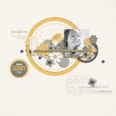 Layout - Meadowlark by One Little Bird Designs