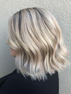 Aveda Summer blonde by at Brio Spa & Hair Salon Lethbridge, AB. Platinum Blonde Hair Color, Brio, Blonde Bobs, Aveda, Summer Makeup, Hair Inspo, Fashion Beauty, Hair Makeup, Hair Cuts