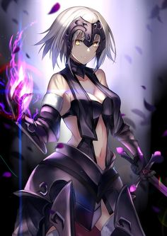 Jeanne d'arc After - Fate Anime Fantasy, Fantasy Girl, Character Art, Character Design, One Punch Anime, Fate Characters, Fate Servants, Fate Zero, Kirito