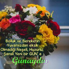 Çiçekli Günaydın Resimleri Ve Günaydın Sözleri | Ozledim.Net Good Morning, Plants, Image, Gun, Good Day, Buen Dia, Bonjour, Military Guns, Plant
