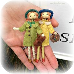 My sister and I are passionate tea drinkers and once or twice a year we go to Afternoon Tea at one of the luxury hotels in London. Felt Dolls, Doll Toys, Fabric Dolls, Paper Dolls, Clothespin Dolls, Tiny Dolls, Sewing Dolls, Little Doll, Waldorf Dolls