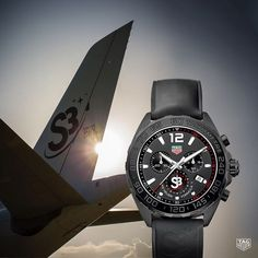 In 1962TAG Heuer was the 1stSwiss watchmaker inspace with a trusted Heuer2915Aon the wrist of John Glenn aboard the FriendShip 7. Today marks a new spacial achievement for TAG Heuer. Thanks to the S3 Swiss aerospace program participants canfly on a private A340 Airbus &experience Zero Gravity.Kick-off of the 1stflight in Switzerland will be in September! Step 1: design &production of the exclusive TAG Heuer S3 watches servingas boarding passes to access the plane. Are you ready to embark on…