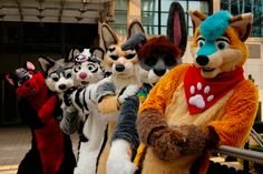 Us furries are all one big family, no matter what the age or size or gender. Wag your tails! :D