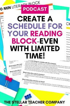 We often think that more time is actually the challenge to effectively teach reading, but the reality is that the amount of time you have is not what makes an amazing literacy block it is what you do with that time! No matter how much time you have you can make your literacy block effective! I have 7 tips to make an effective literacy block-even with limited time! Teaching 5th Grade, 5th Grade Reading, Help Teaching, Teaching Reading, Guided Reading, Reading Resources, Reading Strategies, Reading Comprehension, Small Group Reading