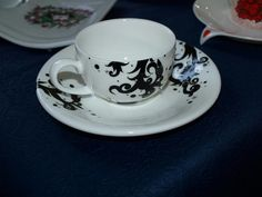 Tea Cups, Tableware, Dinnerware, Dishes, Place Settings, Teacup, Cup Of Tea