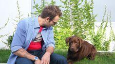 Michael Vartan Michael Vartan, Sexy Men, Labrador Retriever, Handsome, Dogs, Animals, Labrador Retrievers, Animales, Animaux