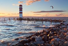 Lake Neusiedl, Austria/ Hungary - looks like Pure Michigan to me! Retirement Invitation Template, Invitation Templates, Cheap Flight Deals, Famous Musicals, Lighthouse Photos, Cn Tower, Austria, Places To Visit, Castle