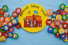 Artists in Primary Schools Projects - Subjects Collaborative Art Projects For Kids, Art Education Projects, School Art Projects, Primary School Art, Elementary Art, Art School, Art Classroom Decor, Hallway Art, School Murals