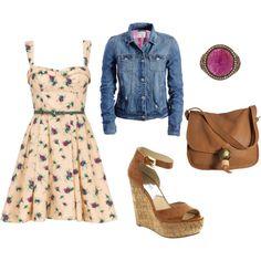 perfect girl next door outfit