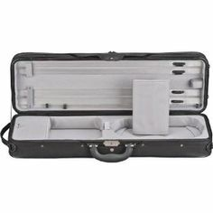 Heritage Ultra Light Gray Violin Case by Heritage. $79.00. Ultra light and elegant, this Heritage Violin Case is modeled on the famous pro-level Shar SL, and has all the top quality features at an unbeatable price. The molded foam construction makes it super light and the clever reinforcement with plywood ensures its strength and durability.