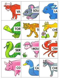 Syllabozoo - L ecole de crevette - Here's a List of Education Companies Offering Free Subscriptions to . Flashcards For Kids, Color Flashcards, Autism Education, Fun Facts About Animals, French Classroom, French Immersion, Teaching French, Learning Through Play, Learn French