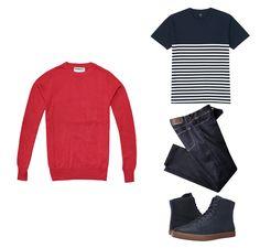 Look para hombre, perfecto para cualquier día de la semana. #Roosevelt  #style #RSBoys #fashionwear