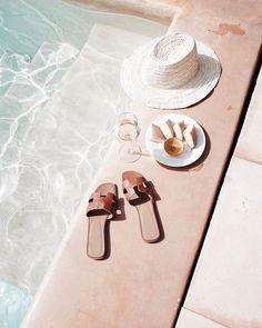 Summertime vibes by the pool Summer Vibes, Summer Feeling, Good Vibe, Summer Aesthetic, Beige Aesthetic, Summer Accessories, Photo Instagram, Instagram Summer, Instagram Life