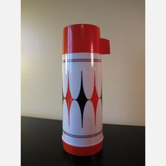 Aladdin Glass Harlequin Thermos, $32, now featured on Fab.