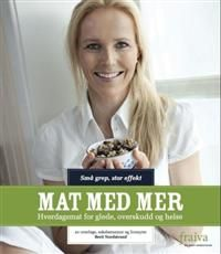 http://www.adlibris.com/no/product.aspx?isbn=8299904307 | Tittel: Mat med mer: hverdagsmat for glede, overskudd og helse - Forfatter: Berit Nordstrand - ISBN: 8299904307 - Vår pris: 210,-