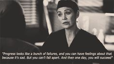 She never gives up, never stops fighting.