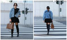 Bárbara Marques - Aly John Jacket, Zara Dress, Prada Bag, Stradivarius Boots, Miu Sunglasses - What's luck anyway?