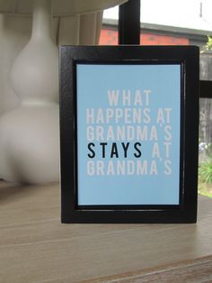Gramma Cookie was the bomb. Mother Day Gifts, Gifts For Mom, Friends Are Family Quotes, I Love Grannies, Grandma Quotes, Grandmother Gifts, Crafty Craft, Wall Quotes, Craft Gifts