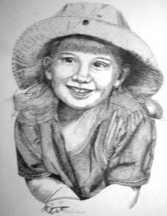 Custom Pen & Ink Portrait 16 x 20 Starts at $200 Call for Price 615-429-9960  Makes Great Mother's Day Gifts!
