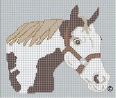Free Cross Stitch Patterns | horse cross stitch pattern