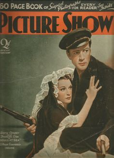 Picture Show 12th February 1938 Gary Cooper / Frances Dee / Tyrone Power | eBay