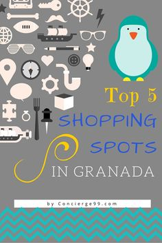 Best spots to shop in Granada, Spain including the secret ceramics store for handmade originals, where to find the best gifts for those back home and the high-street shops for your own retail therapy.