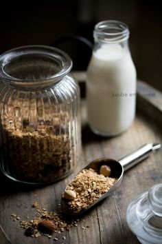 Granola maison (huile de noisette)