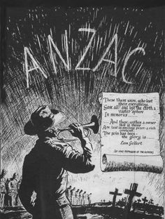 Anzac Day Memorial - For the Australians and New Zealanders who have lost loved ones in Wars throughout history a Dedication.