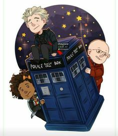 Whose ready for the new series?   (Artwork by @drstaypee) #DoctorWho