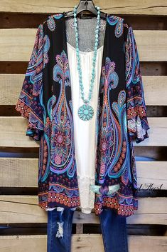 8d2197ffa85 AHB EXCLUSIVE - Simple Bliss Kimono - Navy  product type  - Angel Heart  Boutique