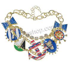 Zinklegierung Schmuck Halskette, mit Messing Strass Klaue Kette & Aluminium, mit Verlängerungskettchen von 2lnch, goldfarben plattiert, Oval...