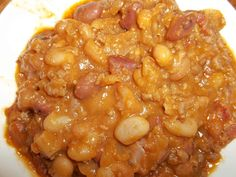 Grandmas recipe for Baked Beans are the best we have ever eaten! Potluck Meals, Potluck Recipes, Side Dish Recipes, Cooking Recipes, Healthy Sides, Healthy Food, Healthy Recipes, Granny's Recipe, Baked Bean Recipes