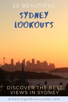 Find out where the best lookouts in Sydney Australia are for amazing sunset photography, coastal views and Sydney attractions such as the Sydney Opera House and Sydney Harbour Bridge. #sydney #photography #sunsets #travel Sydney Photography, Australian Photography, Sunset Photography, Sydney Australia Travel, Coast Australia, Cities In Wales, Bondi Icebergs, Sydney Beaches, Botany Bay
