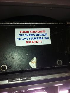United Airlines flight attendant's rear end sticker reinforces new unfriendly skies reality
