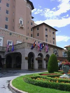 Broadmore Hotel Co springs....places ive been.