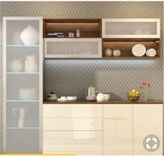 3 Considerate Tips AND Tricks: Dining Furniture Ikea Hacks dining furniture makeover benches. Kitchen Room Design, Modern Kitchen Design, Interior Design Kitchen, Kitchen Colors, Ikea Hacks, Crockery Cabinet, Crockery Units, White Painted Furniture, Painting Furniture