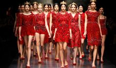 Watch the video of the Dolce&Gabbana Fall Winter 2014 Mosaics Collection fashion show.