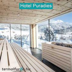 A Salzburgi Alpok lábainál pazar helyen épült az első osztályú Hotel Paradies Leogang városában. Olvasd el a cikkünket, kattints a képre! Salzburg, Porch Swing, Outdoor Furniture, Outdoor Decor, Home Decor, Paradise, Decoration Home, Room Decor, Porch Swings