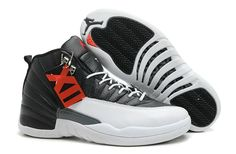 "Vind Air Jordans 12 Retro ""Playoffs"" Black/White -Varsity Red For Sale online of in Jordany. Shop Top Brands en de nieuwste stijlen Air Jordans 12 Retro ""Playoffs"" Black/White -Varsity Red For Sale van ten Jordany. Nike Air Jordans, Cheap Jordans, New Jordans Shoes, Men's Shoes, Retro Jordans, Shoes 2017, Womens Jordans, Hot Shoes, Jordans Sneakers"