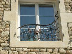 Arte Forge (Mes créations en fer forgé): Rambardes et Grilles de défense pour petites fenêtres...