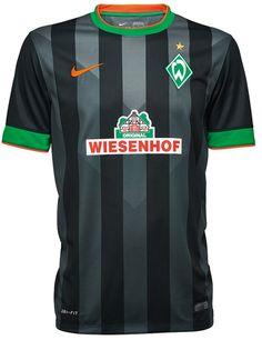 FlagWigs: Werder Bremen German League Third Jersey Shirt Kit...