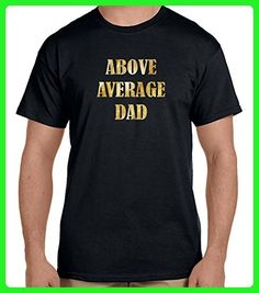 Above Average Dad men's t-shirt - Relatives and family shirts (*Amazon Partner-Link)